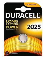 Duracell CR2025 DL2025 3V Lithium Coin Cell Batteries Original