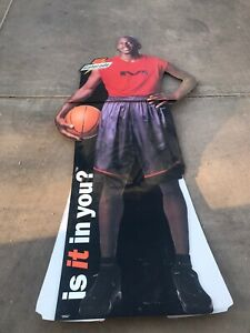 1999 GATORADE Michael Jordan Chicago Bulls Life Size Cardboard Stand Up Cut Out