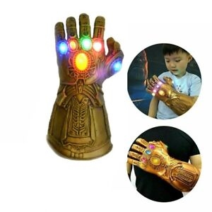 Figure & LED Light Thanos Gloves  Infinity Gauntlet  Kids Adult+ Gift