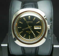 Vintage Seiko Bellmatic 1973's Black Dial 4006-6021 Chronograph Automatic Watch