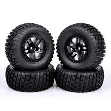 Us 4X 12mm Hex For Traxxas Slash Hpi 1/10 Rc Short Course Truck Tires&Wheels