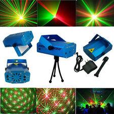 Proyector mini maravilloso R&G DJ Luz Disco Escenario Fiesta de Navidad Espectáculo de iluminación láser