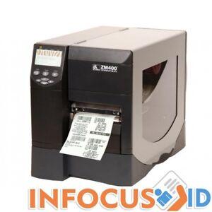 Zebra ZM400 203 DPI Thermal Transfer Label Printer With Ethernet & Support
