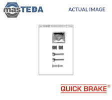 QUICK BRAKE FRONT REAR BRAKE CALIPER REPAIR KIT 113-1301X P NEW OE REPLACEMENT