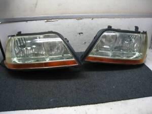 JDM 02 Toyota CROWN MAJESTA UZS171 UZS177 HID Headlights Lights Lamps OEM