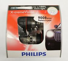 Genuine Philips X-treme Vision 100% Brighter H13 9008 XVS2 60/55W Halogen Bulbs