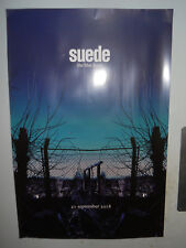 "SUEDE THE BLUE RARE GLOSSY PROMO POSTER 20""x 30"" 50cm x 76cm APPROX BRETT BUTLER"