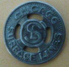 Rare Chicago Illinois IL150T Transit Token- Chicago Surface Lines