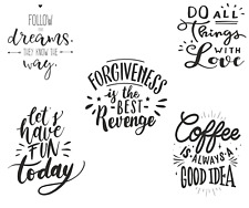 Wholesale Lot 10 Woman's Inspirational Quotes Graphic Tees 4 Sizes And Assorted
