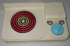 RARE PLAYSKOOL KITCHEN Vintage Stove Top Kitchen Play Used 1996 Toy Sounds Cute