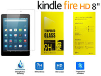 "Genuine Tempered Glass Screen Protector For AMAZON KINDLE FIRE HD 8"" inch 2018"