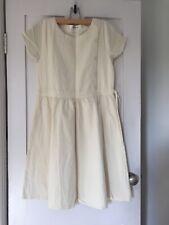 WHITE COTTON DRESS SIZE 12