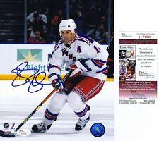 BRENDAN SHANAHAN Signed NEW YORK RANGERS 8x10 PHOTO - JSA #H75600