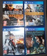 Lot 4 Jeux Bulletstorm  Battlefield  Destiny La Collection - PlayStation 4 NEUF