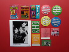 SMASHING PUMPKINS,promo photo,12 RARE Original Backstage passes
