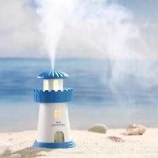Lighthouse Humidifier Atmosphere Nightl Lght Desktop USB Mini Air Purifier A