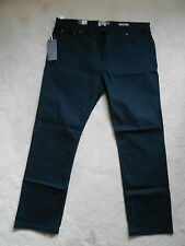 """M&S Navy Stretch Cotton Casual Trouser Jeans(NEW) W:40"""" L:31"""" (Regular) £39.50"""