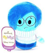 Hallmark Disney Pixar Inside Out Sadness Itty Bitty Plush Stuffed Animal!