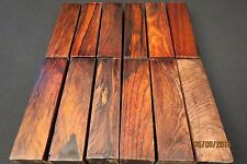 "COCOBOLO LUMBER  1 1/2"" x 6""  TURNING STOCK CUES CALLS SCALES FLUTES PENS"