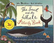 THE SNAIL AND THE WHALE Activity Book JULIA DONALDSON Stickers Games Puzzles NEW