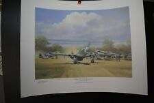 3 X AVIATION LIMITED EDITION PRINTS ARTIST & PILOT SIGNED P51 MUSTANG, TORNADO