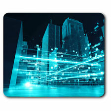 Computer Mouse Mat - 3D Digital City Architecture Office Gift #21053