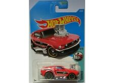 2017 Hot Wheels - Tooned - '68 Mustang - Red - #4/10 - #27/365