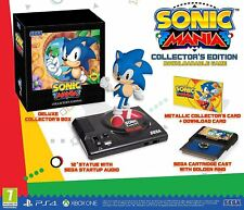 Ps4 Game Sonic Mania Collectors Edition With Statue