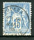 Timbre de France classique, Sage n° 90 Oblitération cachet à date Douera Algérie