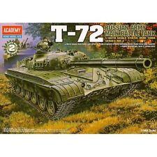 Academy 1/48 Russian Army Main Battle Tank T-72 Plastic Model Kit Military 13006