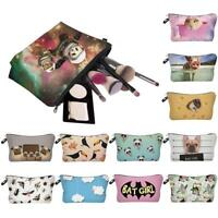 Cute Women Girl Travel Cosmetic Bag Case Toiletry Makeup Storage Pouch Purse Box