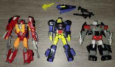 Transformers Generations Titans Return Autobot Twinferno Hot Rod  3 figure Lot
