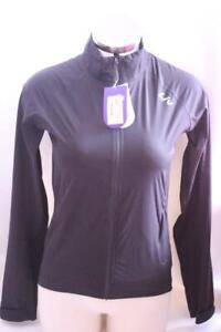 New Liv Women's Delphin Rain Jacket XS Black Cycling Bike Waterproof $137