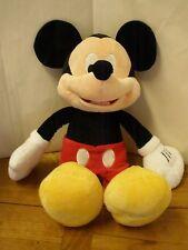 Disney Mickey Mouse Pink Stuffed Animal Plush Red Polka Dot Pants