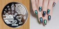 Nail Art Stamping Plates Image Plate Decoration Harry Potter Halloween (hehe33)