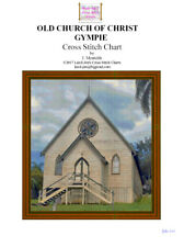 OLD CHURCH OF CHRIST GYMPIE - cross stitch chart