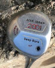 Acer Series 2001 Jumbo One Driver 1 Wood Deep Bore 10 Degree Regular Flex