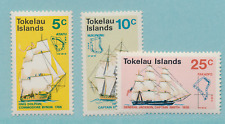 Tokelau Islands Stamps Scott #22 To 24, Mint Never Hinged
