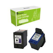 Remanufactured C9351A XL BK & C9352A XL Color Ink for HP 21 22 Deskjet 3930