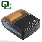QS 5801 UTILE Leggero Mini Portatile Bluetooth 4.0 STAMPANTE spina UE