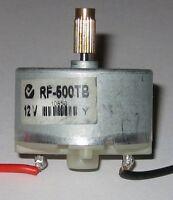 RF-500 Low Current Motor - 3 to 12 VDC - 2400 RPM Solar Motor w/ 5mm Brass Gear