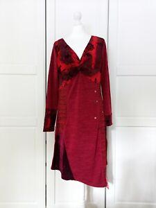 Joe Browns Red Festive Tunic Dress BNWT UK14