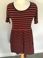 Jack Will Ladies Striped Short Sleeve Tunic / Dress Size 6. Good Condition.