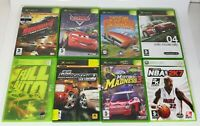 Xbox 360 Games Lot of 8 - PAL - Full Auto, Midnight club 3, Midtown Madness 3