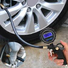 Professional Digital LCD Tyre Tire Air Pump Pressure Gauge Tester Car Van 200PSI