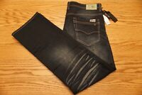NWT MEN'S BUFFALO DAVID BITTON JEANS Multiple Sizes Six-X Slim Straight Stretch