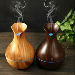 Electric Aroma Essential Oil Diffuser Ultrasonic LED Aromatherapy Air Humidifier
