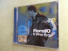 cd audio fiorello a modo mio