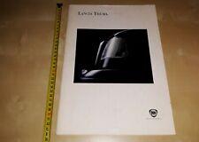 Lancia Thema prospekt/brochure/folder 1992 BIG SIZE