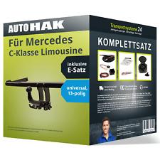 Anhängerkupplung abnehmbar für MERCEDES C-Klasse Limousine +E-Satz NEU AHK